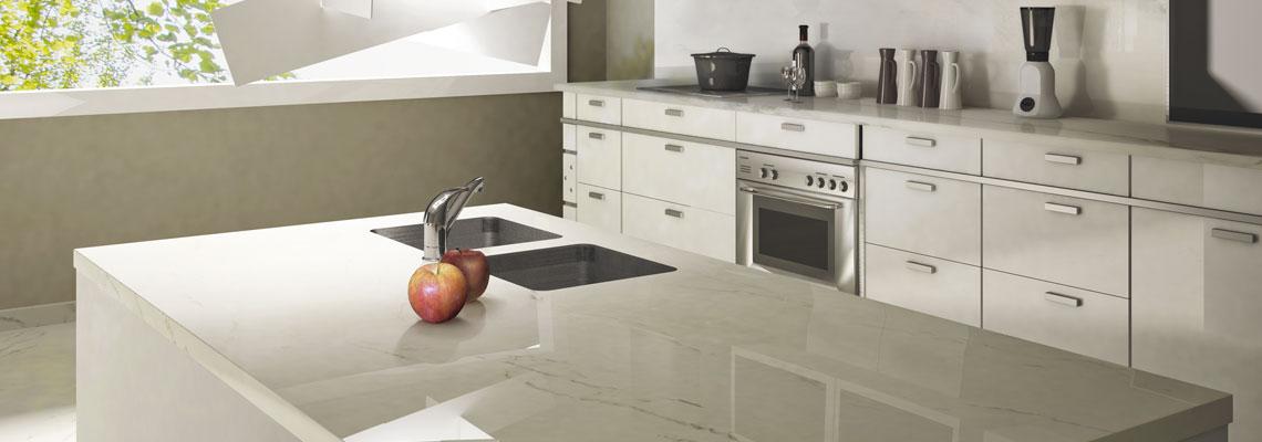 Arbeitsplatte: Von Granit/Naturstein über Quarz bis hin zu Keramik