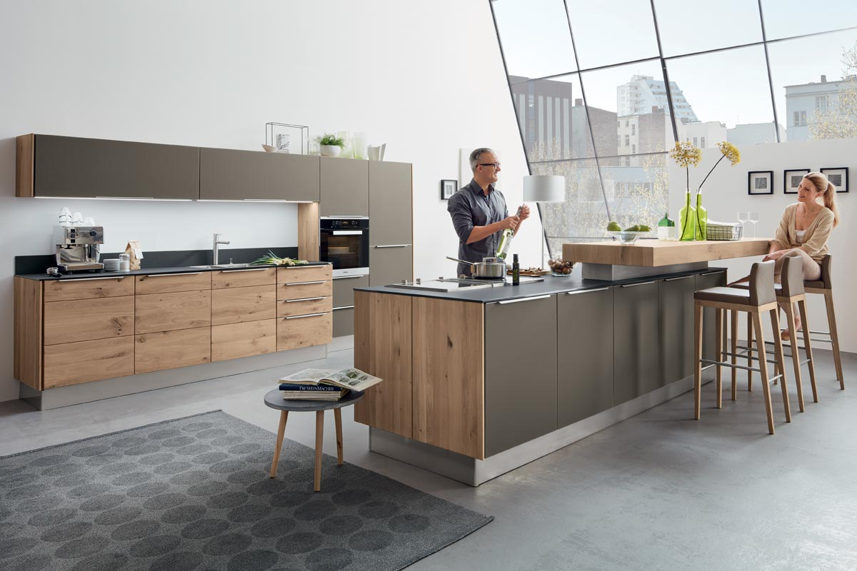 decker massivholz k chen bei k chen janz. Black Bedroom Furniture Sets. Home Design Ideas