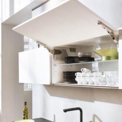 Interliving Küche Hochschrank offen