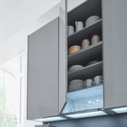 Interliving Küche Hochschrank Unterbeleuchtung